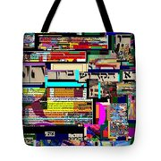Atomic Bomb Of Purity 8 Tote Bag by David Baruch Wolk