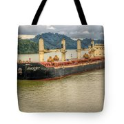 Avocet In The Panama Canal Tote Bag