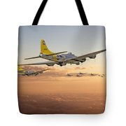 B17 - 486th Bg - Homeward Tote Bag