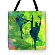 Ballet Watercolor 1 Tote Bag