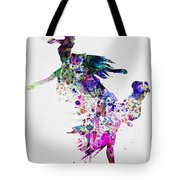 Ballet Watercolor 3 Tote Bag