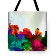 Baltimore City Skyline Tote Bag