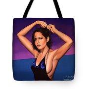 Barbara Carrera Painting Tote Bag