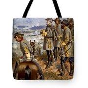 Battle Of Fredericksburg Tote Bag by American School