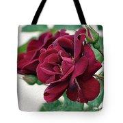 Beautiful Red Roses Tote Bag