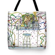Berserk Kitchen Gadgets - With Male Tv Celebrity Chef Tote Bag
