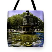 Bethesda Fountain - Central Park  Tote Bag