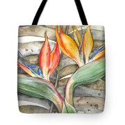 Bird Of Paradise 04 Elena Yakubovich Tote Bag