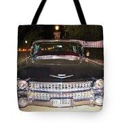 Black And Chrome Beauty Tote Bag