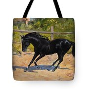 Black Horse Tote Bag