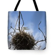 Blue Heron Rookery 7212 Tote Bag