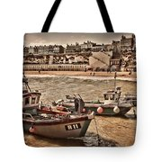 Boats At Broadstairs Tote Bag