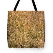Brown Grass Texture Tote Bag