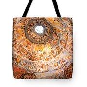 Brunelleschi Cupola Of Florence Duomo. Tote Bag