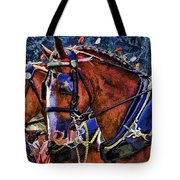 Budwieser Clydesdale Tote Bag