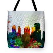Buffalo City Skyline Tote Bag