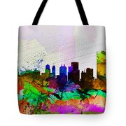 Buffalo Watercolor Skyline Tote Bag