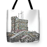 Cabot Tower Tote Bag