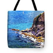 California Coastline  Tote Bag by David Lloyd Glover