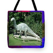 Canadian Dinosour Museaum    Canada Is Rich In Fossils Especially The Provinces Of Alberta And Bri Tote Bag