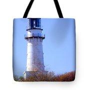 Cape Elizabeth Lighthouse Tote Bag