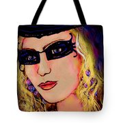 Casablanca Girl Tote Bag