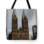 Cathedral Bremen - Germany Tote Bag