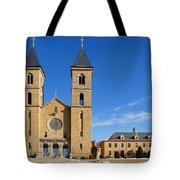 Cathedral Of The Plains Tote Bag