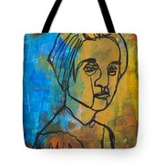 Caught Between Worlds Tote Bag