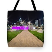 Charlotte Nc Usa - Charlotte Skyline Tote Bag