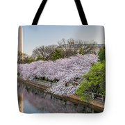 Cherry Reflection  Tote Bag
