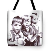 Children Should Not Need Food ... Tote Bag
