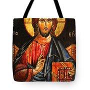 Christ The Pantocrator Icon II Tote Bag