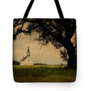 Church On The Plain Tote Bag