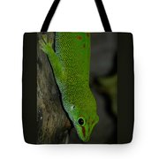 Climbing Giant Day Gecko Tote Bag