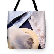 Contraception Methods Tote Bag by Jose Elias - Sofia Pereira