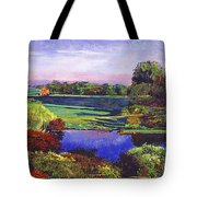 Country View Estate Tote Bag