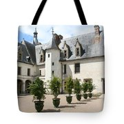 Courtyard Chateau Chaumont Tote Bag