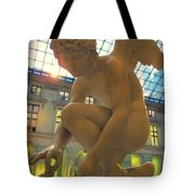 Cupid Playing With A Butterfly - Louvre Museum Paris Tote Bag