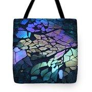 Cut Glass Mosaic  Tote Bag