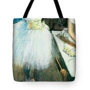 Dancer In Her Dressing Room Tote Bag