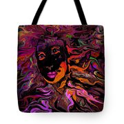 Desire On Fire Tote Bag