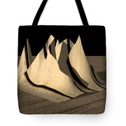 Dinner Napkin Abstract Tote Bag