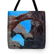 Double Arch - Arches National Park Tote Bag