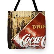 Drink Coca Cola  Memorbelia Tote Bag