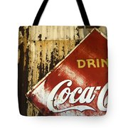 Drink Coca Cola  Memorbelia Tote Bag