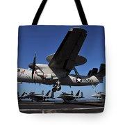 E2c Hawkeye Tote Bag
