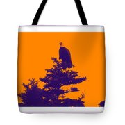 Eagle Scout At Sunset Tote Bag