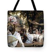 English Mastiff  - Mastiff Art Canvas Print - The Garden Party Tote Bag