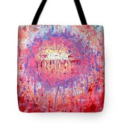 Rich Texture Abstract Painting Tote Bag